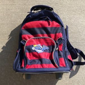 Pottery Barn Kids rolling backpack, NEW!